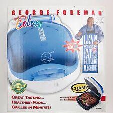 NEW George Foreman Lean Mean Fat Reducing Grilling Machine GR10ABWI NIB Salton