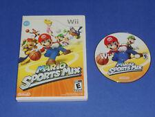 Mario Sports Mix (Nintendo Wii & Wii U) Mario Bros Dodgeball Hockey Basketball