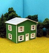 HO Scale Laser Cut Custom Oscar's Two Story House Building Kit
