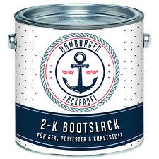 2K Bootslack MATT Hellrotorange RAL 2008 Orange für GFK Bootsfarbe Yachtlack