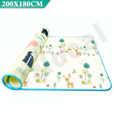 200x180cm Baby Kids Floor Play Mat Rug Picnic Cushion Crawling Mat Waterproof AU