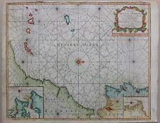 PORTUGAL & BARBARIA 1740 MAP