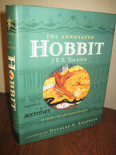 ANNOTATED HOBBIT J.R.R. Tolkien REVISED & EXPANDED Edition FANTASY Classic