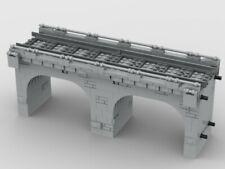 LEGO CUSTOM INSTRUCTIONS MOC Modular Viaduct- PDF MANUAL train city