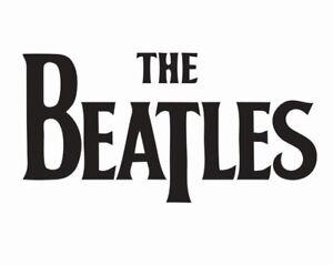 The Beatles Music Vinyl Die Cut Car Decal Sticker - FREE SHIPPING