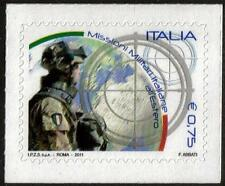 ITALY MNH 2011 Italian Military Missions Abroad - Self Adhesive