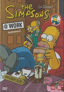 The Simpsons - @work    New dvd in seal