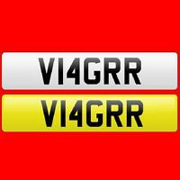 VIAGRA Private/Cherished/Personal New Car Reg/Registration/Number Plate V14GRR