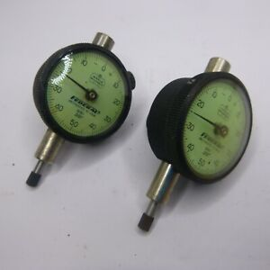 Federal .001 Dial Indicators Gage B81 miracle movement Set of two