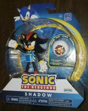 NEW Sonic the Hedgehog SHADOW ACTION FIGURE Jakks Pacific SEGA Toy Soccer Rugby