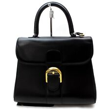 DELVAUX Hand Bag Brillant MM Leather 819717
