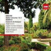 Angel Romero - Giuliani: Guitar Concertos No. 1&3, Rodrigo: Concierto D (NEW CD)