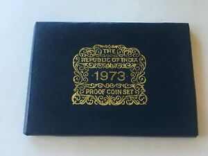 1973 The Republic of India, Proof Coin Set, 11 Coins