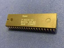 P-80C31-12 Temic Cpu Vintage 40-Pin Dip Rare! Nos Last One