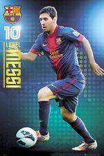 LIONEL MESSI POSTER ~ FOCUS 24x36 Barcelona Football Club FC UEFA Soccer 0849