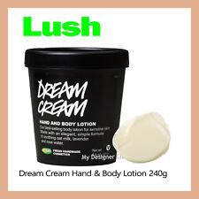 Lush Fresh HandMade Cosmetics Dream Cream 240g Soothe Calm Hydrate Eczema MDC