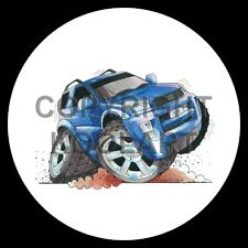 Koolart 4x4 4 x 4 Spare Wheel Graphic Toyota Rav4 Sticker 1285