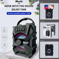 Bluetooth Speaker Wireless Bluetooth5.0 Portable Bass High-Capacity Battery FM