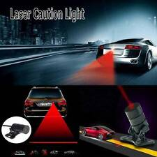 Car Cool Pattern Anti-Collision End Tail Rear Fog Driving Laser Caution Light US