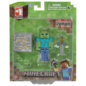 Minecraft Overworld Core Zombie - Series 1
