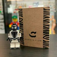 Christo Custom Pad Printed Spider-Man Negative LEGO Minifigure - LIMITED EDITION