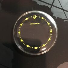 BRAND NEW 30MM YELLOW DOTS SPACEVIEW CRYSTAL FOR BULOVA ACCUTRON