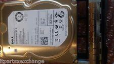 "DELL SEAGATE ES ST2000NM0023 2TB 7.2K RPM SAS 3.5"" 6GB/S 1P7DP 9ZM275-150"