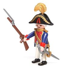 Playmobil Figure Custom British Military Naval Admiral Hat Sword Bayonet 5946