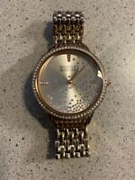 Badgley Mischka BA/1384RGRG Women's Swarovski Crystal Rose Gold Tone Watch