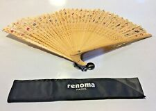 Antique Hand Fan Paris Made In China