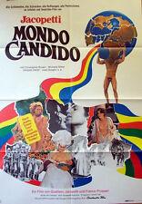 Jacopetti  MONDO CANDIDO original Kino Plakat A1