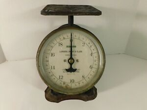Antique Universal Family Scale 20 Pound Landers Frary & Clark Kitchen Scale