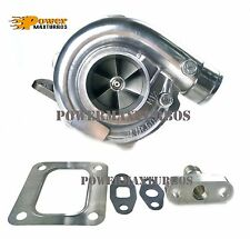 T67 Turbo Charger Universal Turbocharger T4 .68 AR P Trim for Supra Ford Mustang