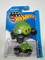 HOT WHEELS CITY 2012 TOON ANGRY BIRDS MINION PIG GREEN 81/250 Gift Toy Stocking