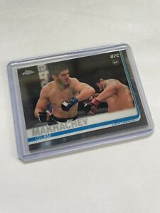 2019 Topps UFC Chrome RC Islam Makhachev ROOKIE card MMA #92