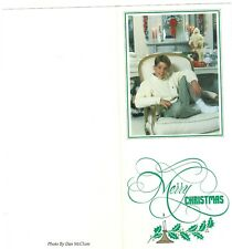 """Kenny Rogers """"Signed"""" Christmas Card circa 1990s"""