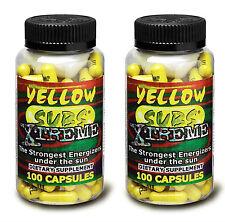 2 Yellow Subs Xtreme Power & Energy Fettverbrennung D&E USA Original aus den USA