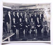 Donald W Douglas Jr Signed 10x8 BxW Photo of Douglas & Aircraft Co Engineers