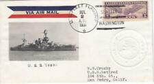 1931, USS Texas, BB-353, Seattle, WA, See Remark (N3824)