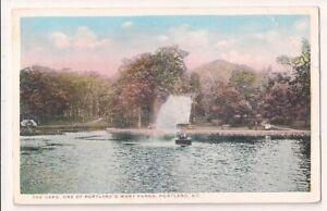 "Vintage Postcard ""The OAKS, Portland, ME."" Postmarked 1910 from PORTLAND, MAINE"