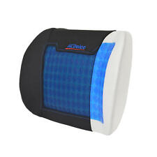 ACDelco Orthopedic Cooling Gel Therapy Lumbar Seat Cushion Memory Foam Back