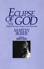Eclipse of God: Studies in the Relation Between Religion and Philosophy