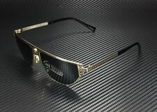 VERSACE VE2213 100287 Gold Grey 57 mm Men's Sunglasses