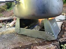 Lot of 2 Bushcraft Multi-Fuel Cooker Survival Stove Backpacking Camping Hunting