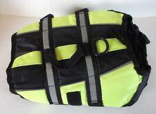 XS Dog/Pet Life Jacket Vest Float Coat Safety Bright Green Reflective Adjustable