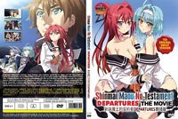 Shinmai Maou no Testament Departures The Movie UNCUT VERSION Ship from USA