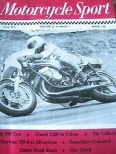 MOTORCYCLE SPORT MAY 1973 HONDA 350 TEST MUNCH 1200 EASTER ROAD RACE DAYTONA 750