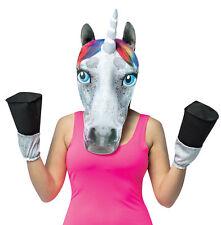 Unicorn Head W Hooves