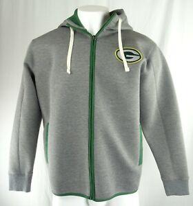 Green Bay Packers NFL Men's Full-Zip Performance Hoodie