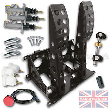 UNIVERSAL FLOOR MOUNTED 2 PEDAL HYD PEDAL BOX + KIT A  CMB0704-HYD-KIT